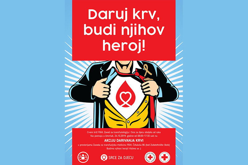 Donate blood, be their hero again!