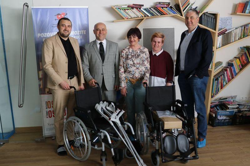 Predstavnici Čurčića Vakufa u posjeti Udruženju i Roditeljskoj kući