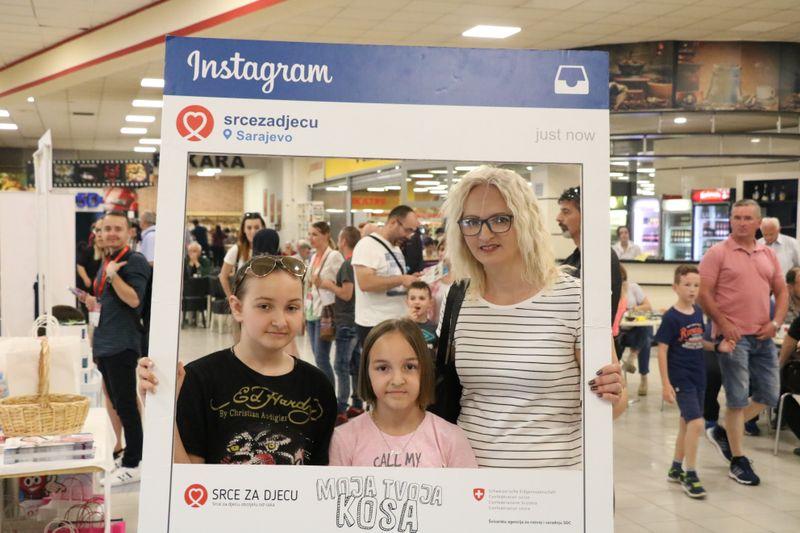 """U Vitezu održana akcija šišanja i doniranja kose u sklopu projekta """"Moja kosa, tvoja kosa"""""""
